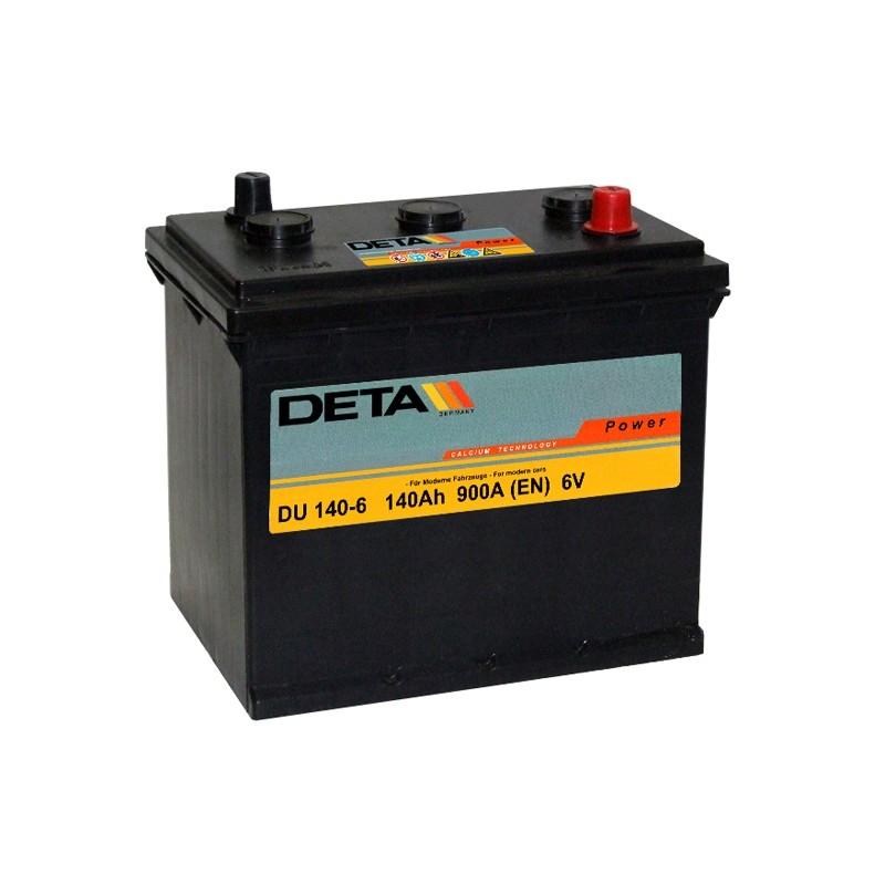 DETA DU 1406 140Ah 6V battery