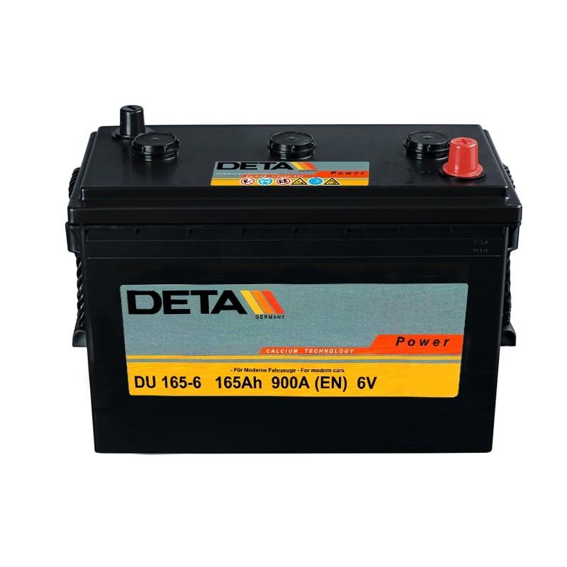 DETA DU 1656 165Ah 6V battery