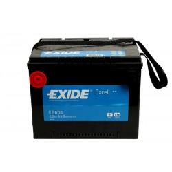 EXIDE EB608 60Ач аккумулятор