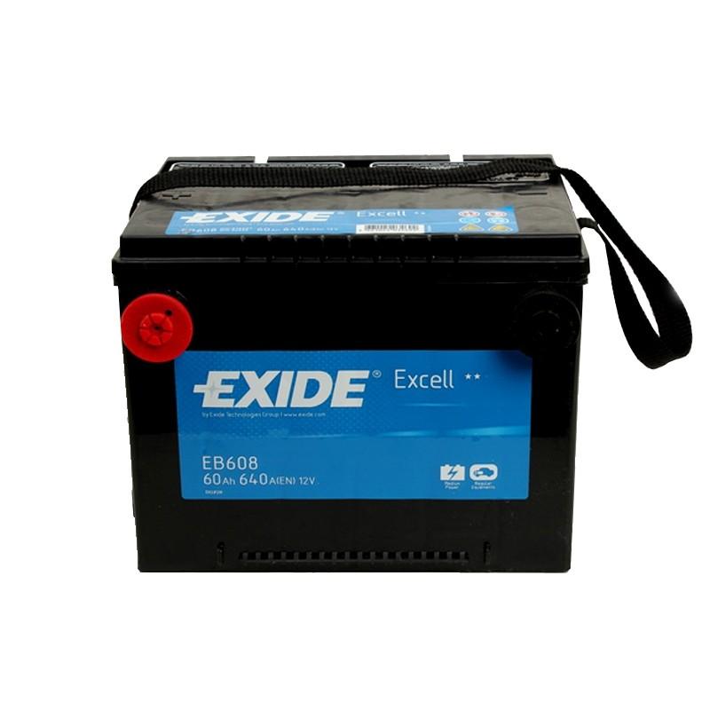 EXIDE EB608 60Ah akumuliatorius