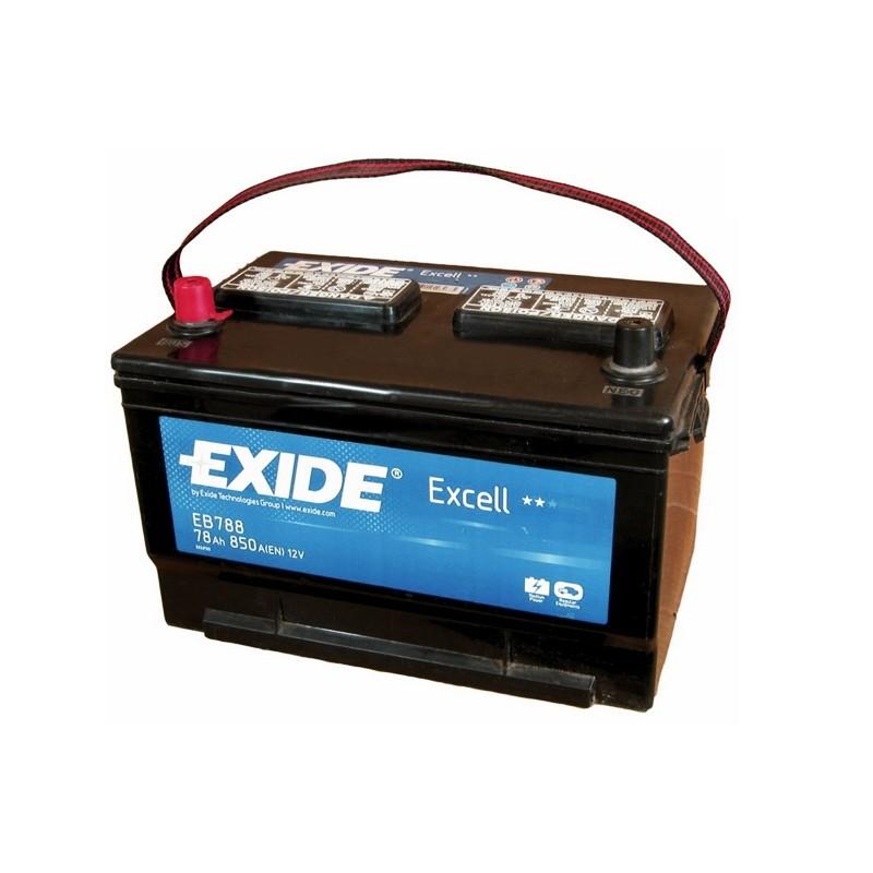 EXIDE EB788 78Ah akumuliatorius