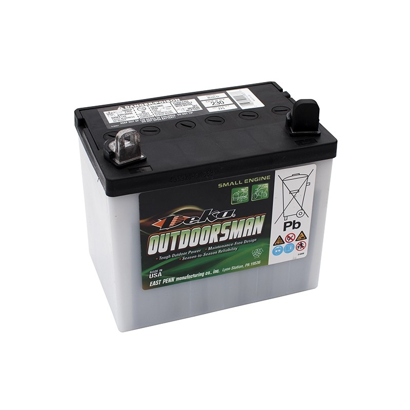 DEKA Outdoorsman 8U1-L 28Ah battery