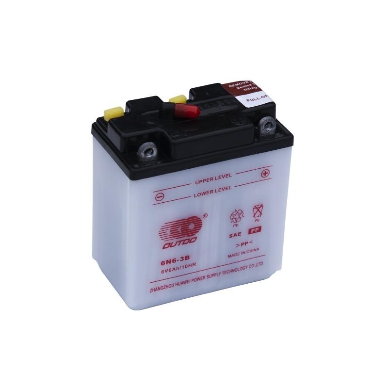 OUTDO (HUAWEI) 6N6-3B 6V 6Ah battery