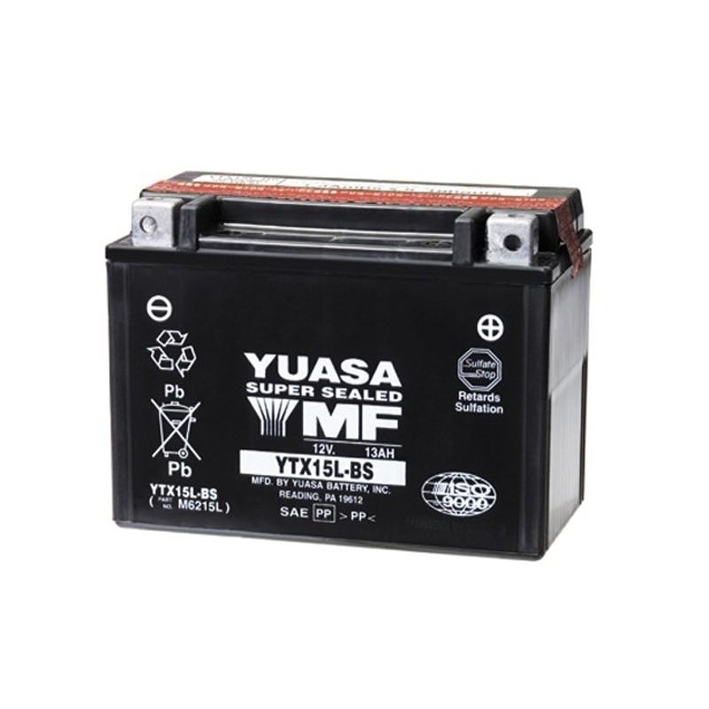 YUASA YTX15L-BS 13.7Ah (C20) battery