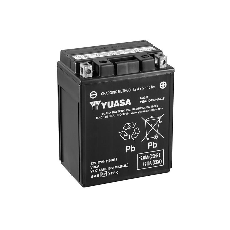 YUASA YTX14AHL-BS 12.6Ah (C20) akumuliatorius