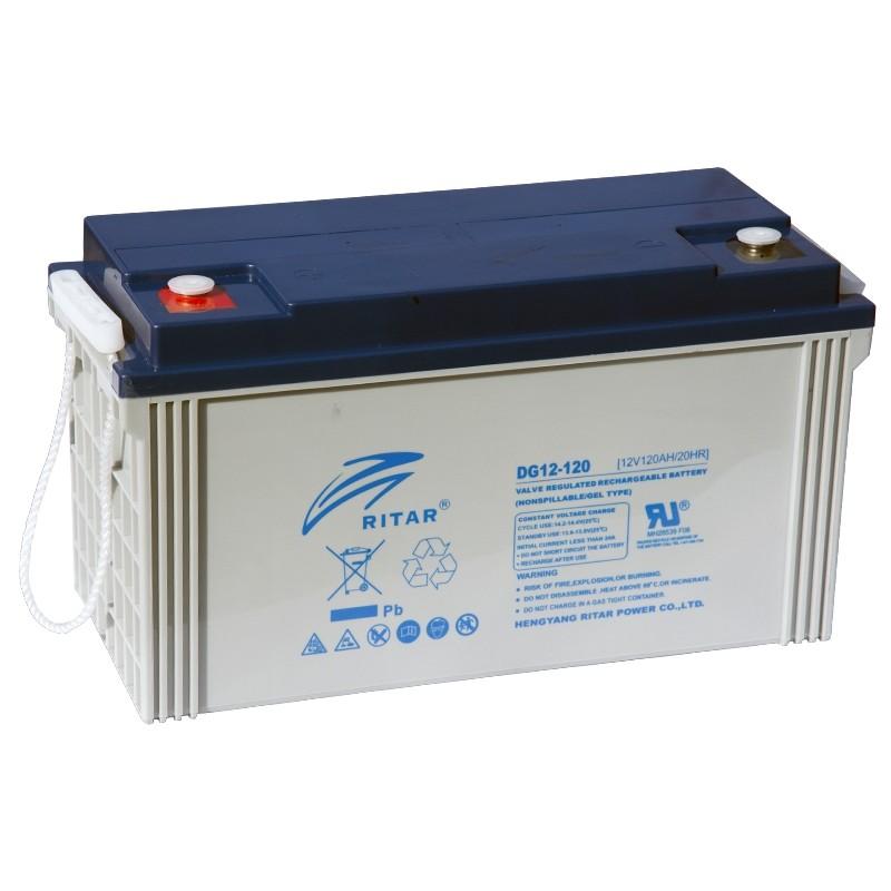 RITAR DG12-120 12V 120Ah GEL VRLA battery