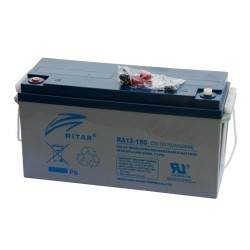 RITAR DG12-150 12V 150Ah GEL VRLA battery