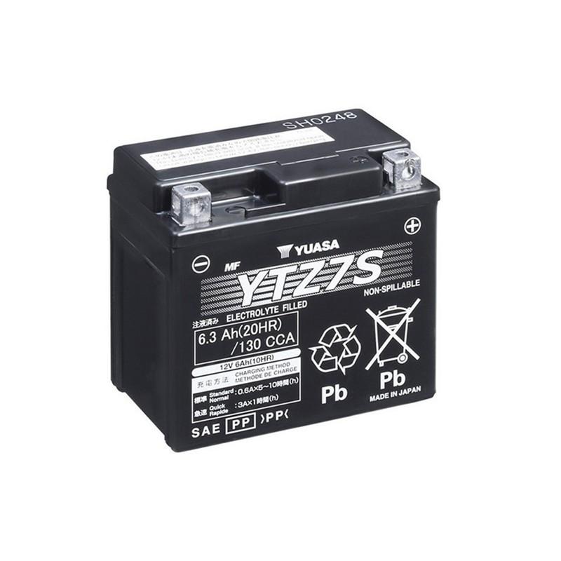 YUASA YTZ7S 6.3Ah (C20) akumuliatorius