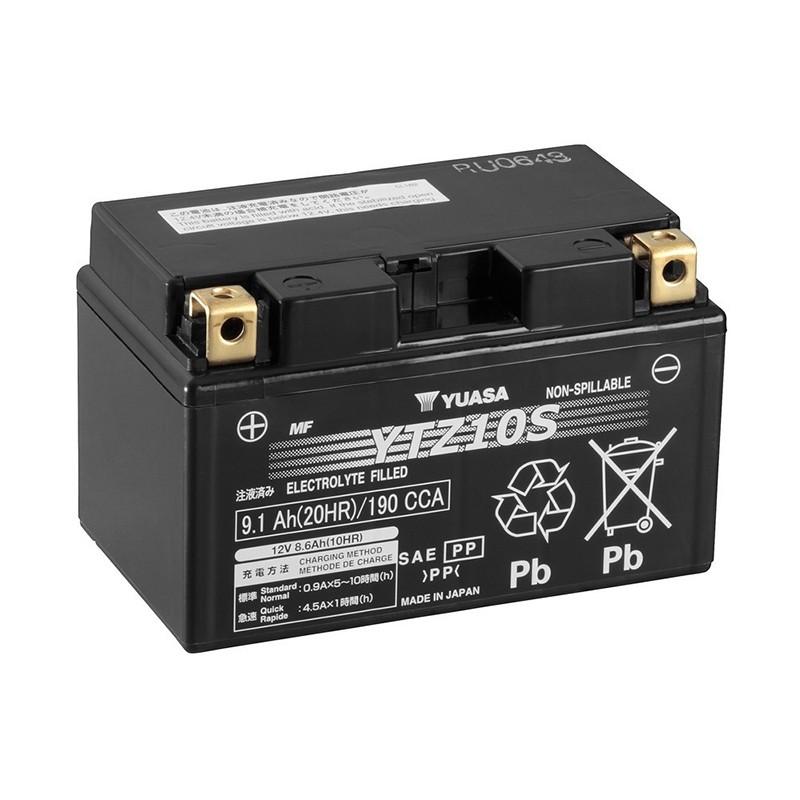 YUASA YTZ10S 9.1Ah (C20) battery