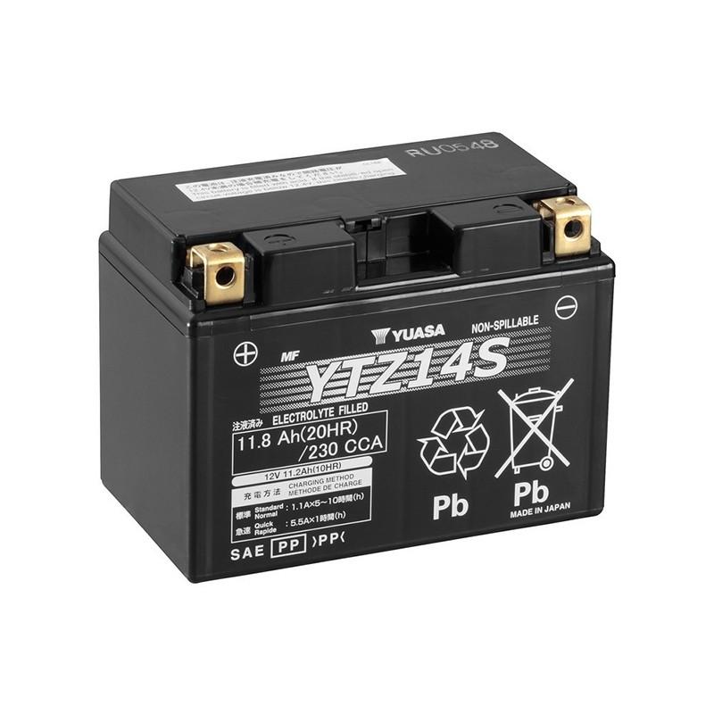 YUASA YTZ14S 11.8Ач (C20) аккумулятор