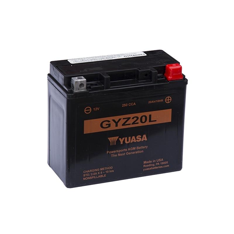 YUASA GYZ20L 21.10Ah (C20) battery