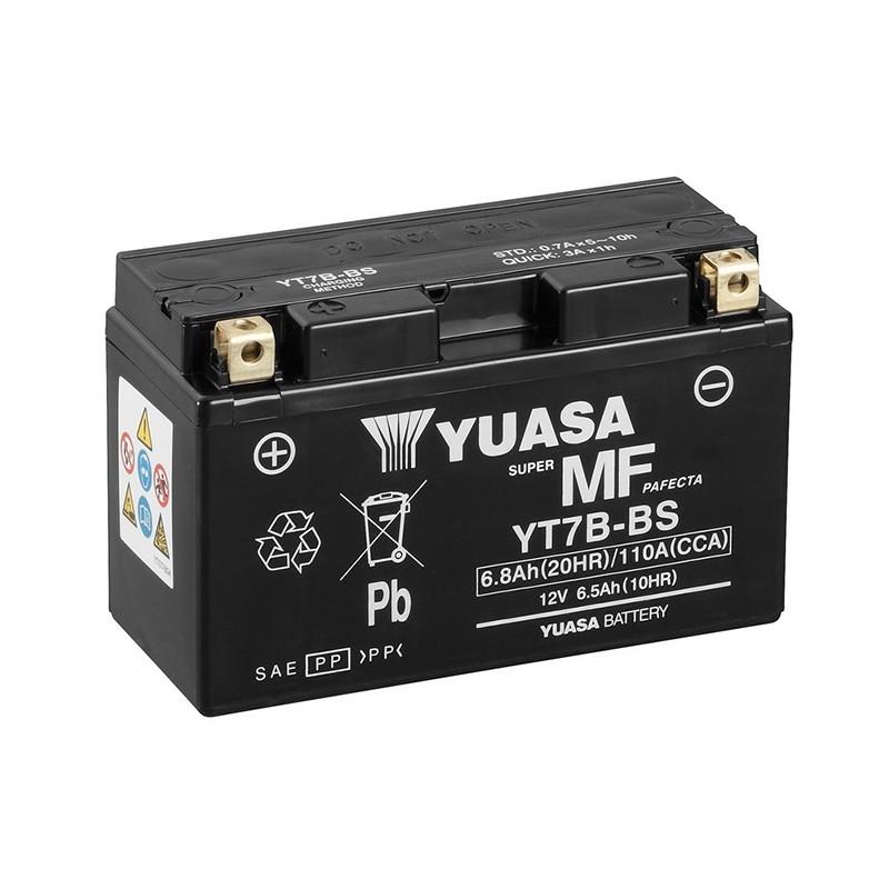 YUASA YT7B-BS 6.8Ah (C20) akumuliatorius
