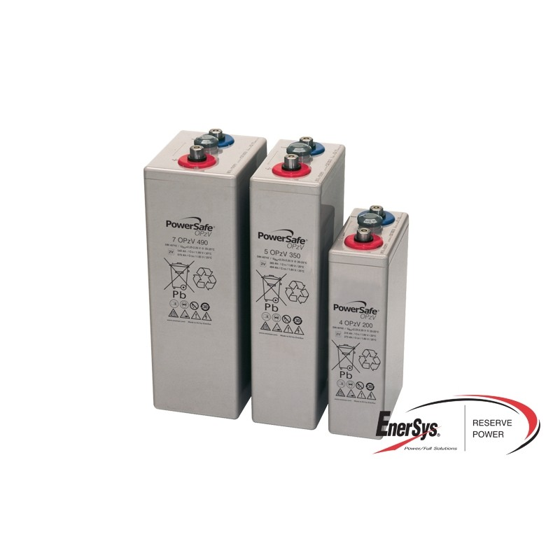 ENERSYS OPzV GEL VRLA batteries
