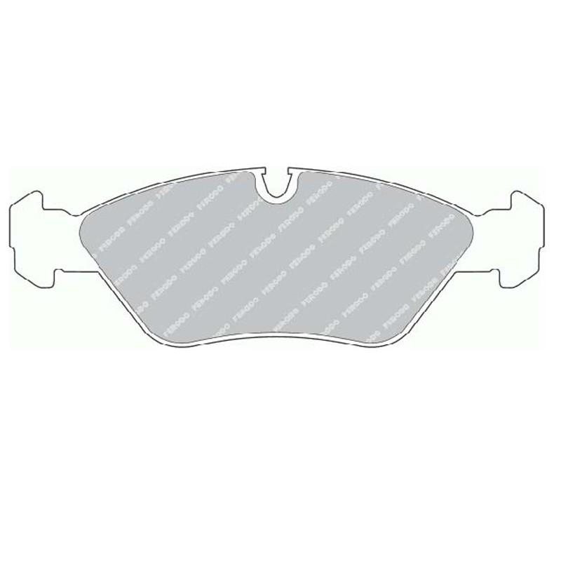 Disk brake pads FTH 256 (EGT 321404)