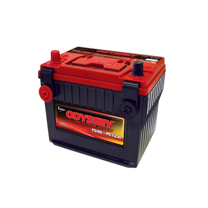 ODYSSEY 75/86PC1230 AGM 55Ah akumuliatorius