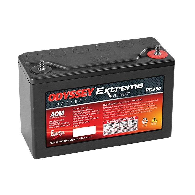 ODYSSEY Extreme 30 (PC950) AGM 34Ah battery