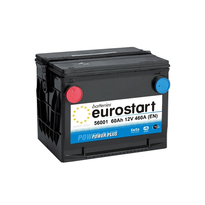 EUROSTART POWER PLUS 56001 60Ah akumuliatorius