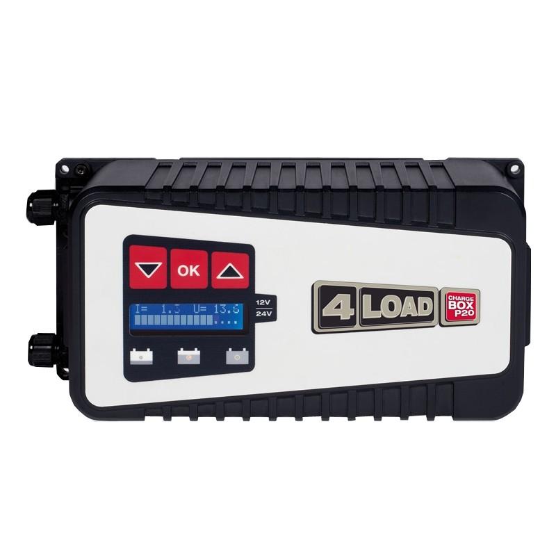 Įkroviklis akumuliatoriams 4LOAD Charge box P20 20A (12/24V)