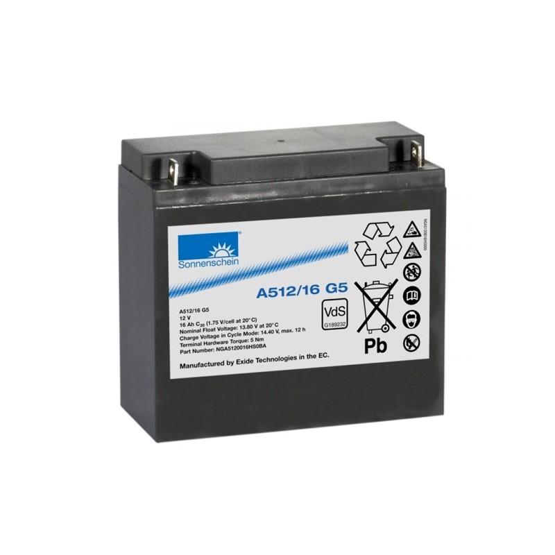 Sonnenschein (Exide) A512/16-G5 16Ah battery
