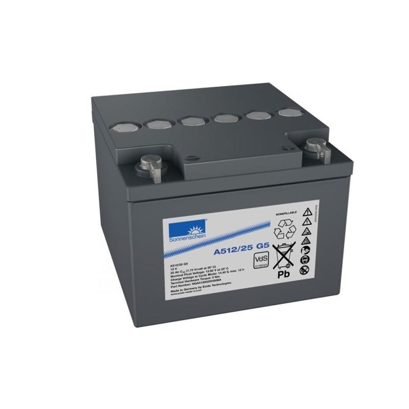 Sonnenschein (Exide) A512/25-G5 25Ah battery