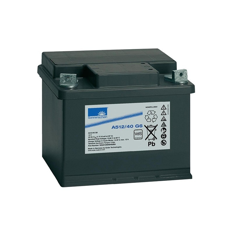 Sonnenschein (Exide) A512/40G6 40Ah battery