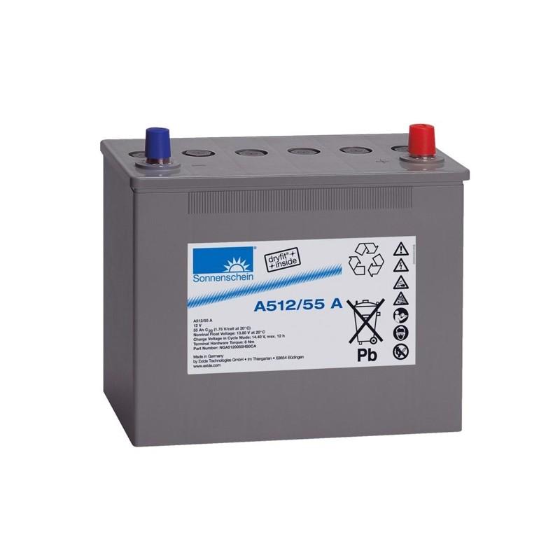 Sonnenschein (Exide) A512/55A 55Ah battery