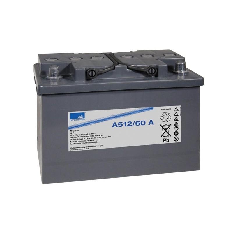 Sonnenschein (Exide) A512/60A 60Ah akumuliatorius