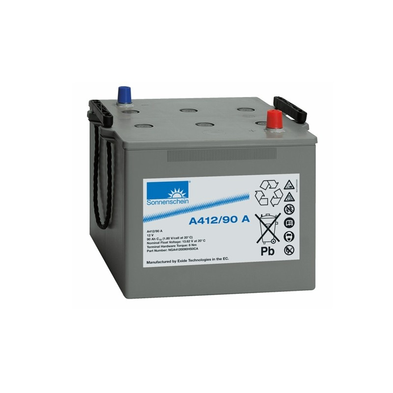 Sonnenschein (Exide) A412/90A 90Ah (C10) akumuliatorius
