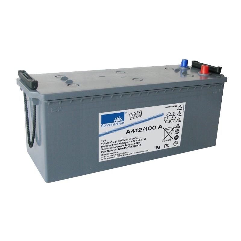 Sonnenschein (Exide) A412/100 A 100Ah (C10) battery
