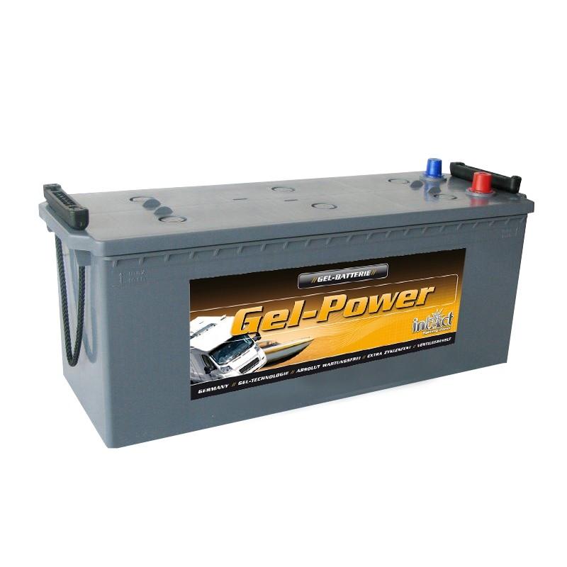 intAct GEL-120 120Ah akumuliatorius