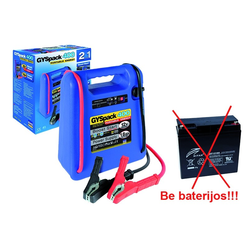 Booster GYSPACK-400 (without batteries)