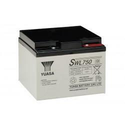 YUASA SWL750 12V 23Ah AGM VRLA akumuliatorius