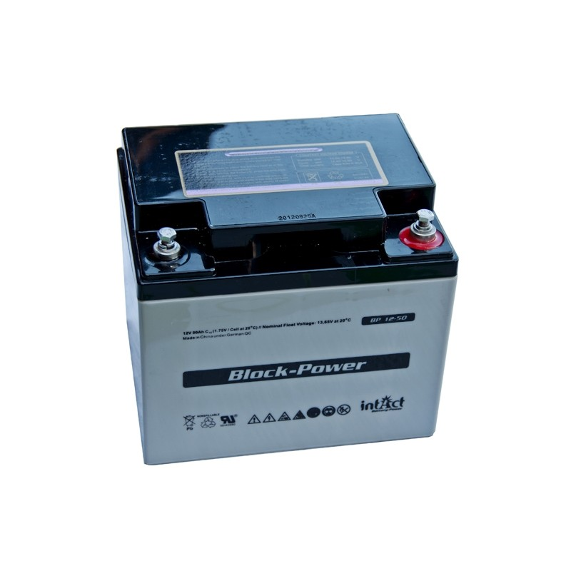 IntAct BP12-50 12В 50Ач AGM VRLA аккумулятор