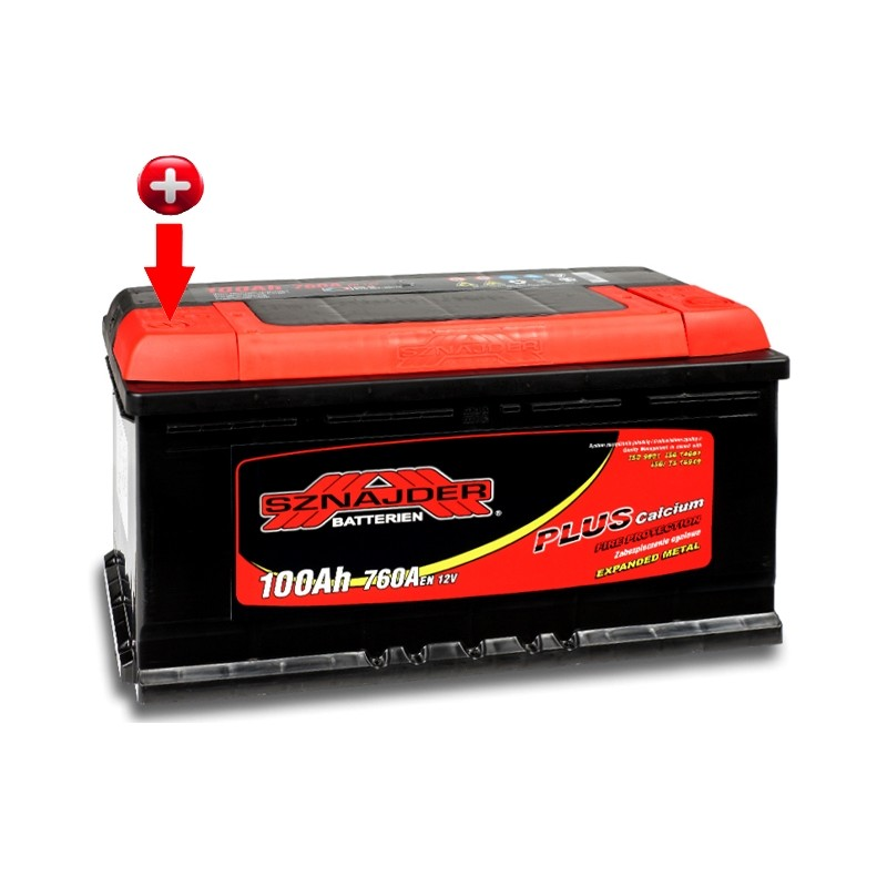 SZNAJDER PLUS 60065 100Ah battery