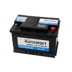 EUROSTART PREMIUM 57740 (577400078) 77Ah akumuliatorius