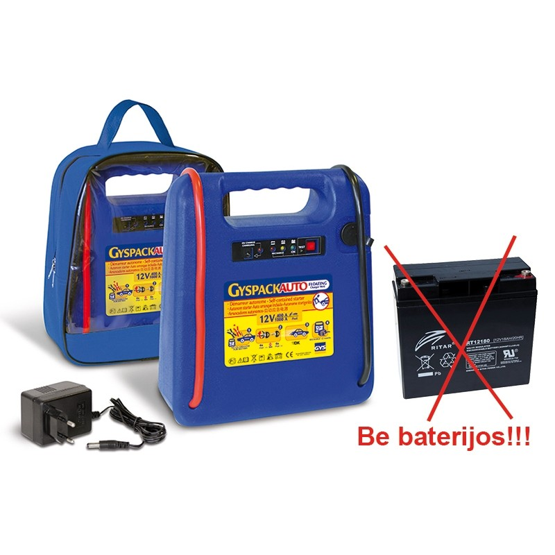 Booster GYSPACK-AUTO (without battery)