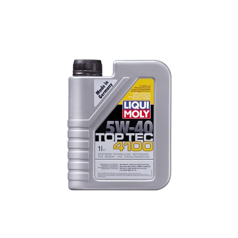 Synthetic motor oil Top Tec 4100 5W-40 LIQUI MOLY 9510