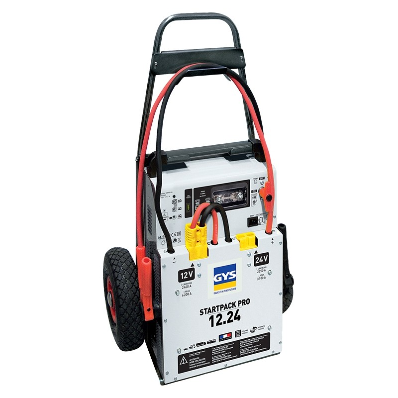 Professional booster GYSPACK-PRO-12.24 (with batteries)
