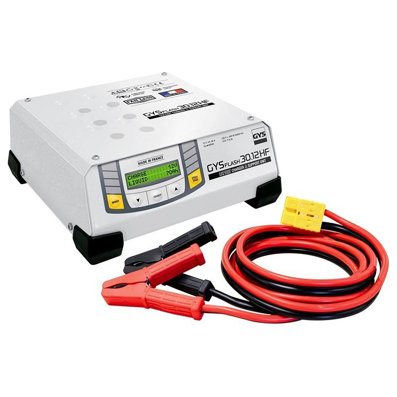 Įkroviklis akumuliatoriams GYS-FLASH-30.12HF (SMPS)