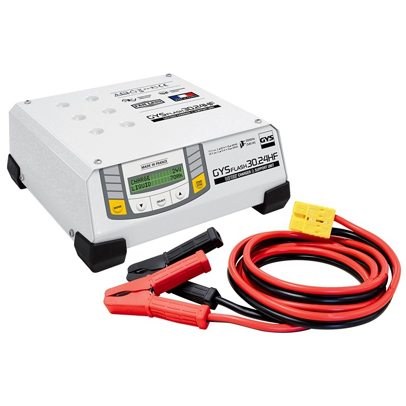 Įkroviklis akumuliatoriams GYS-FLASH-30.24HF (SMPS)