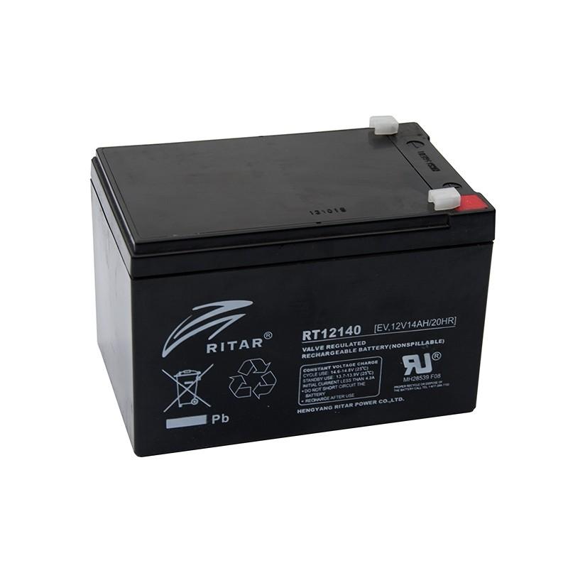 RITAR EV12-14 12V 14Ah AGM VRLA battery