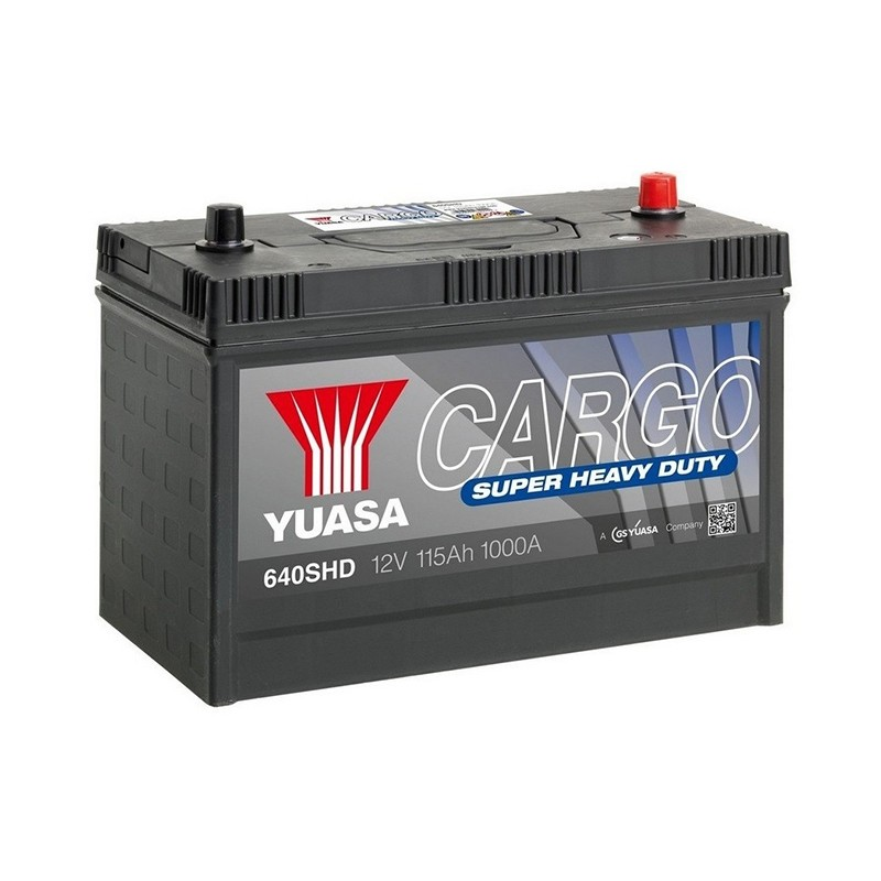 YUASA 640SHD CARGO SHD akumuliatorius