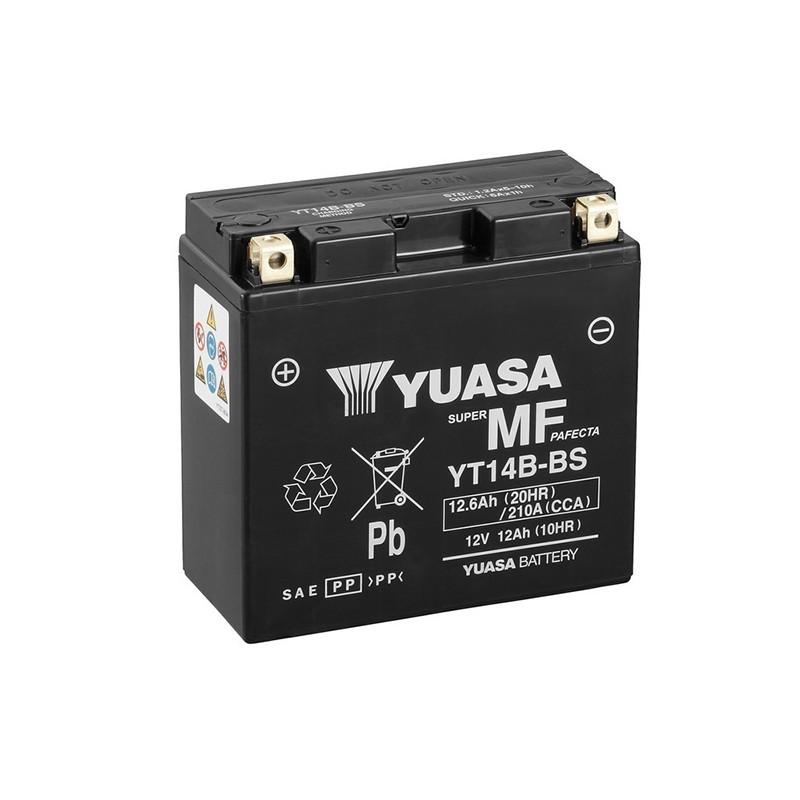 YUASA YT14B-BS 12.6Ah (C20) akumuliatorius