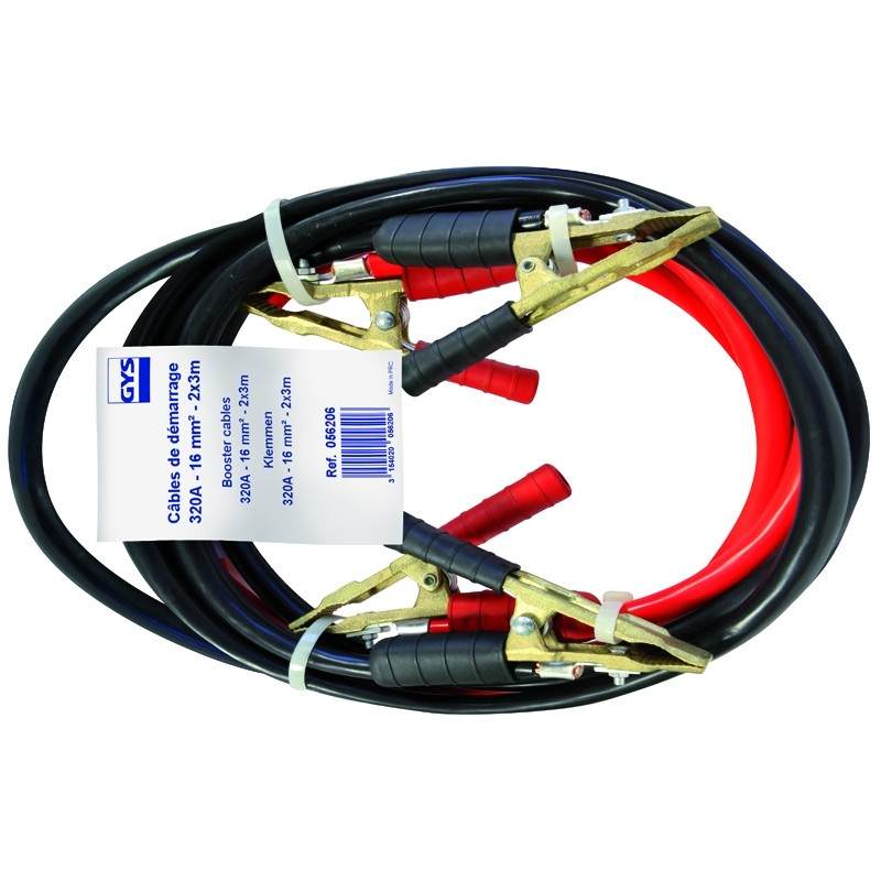 Пусковые провода GYS (320A /16mm²-3.0m) PRO