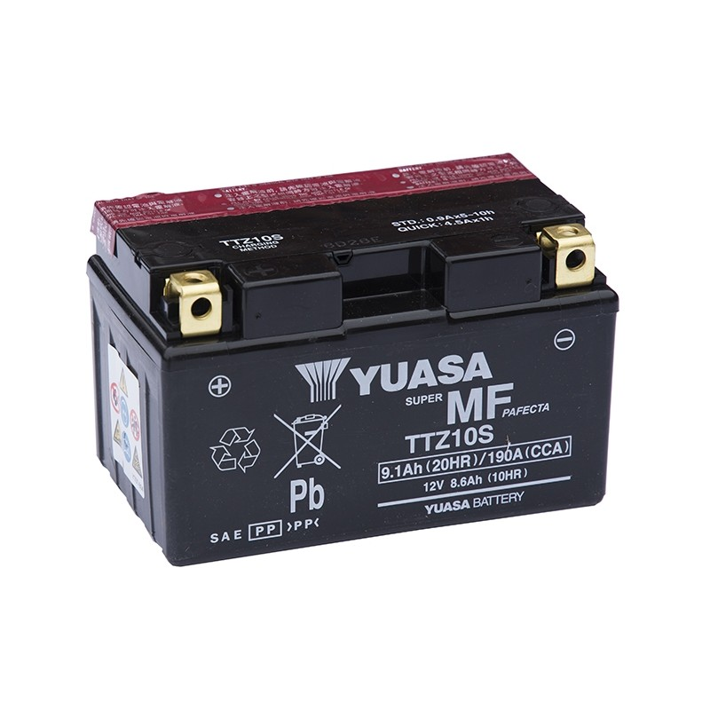 YUASA TTZ10S-BS 8.6Ah akumuliatorius