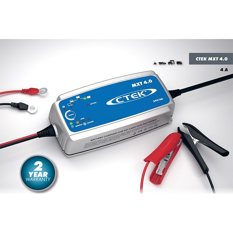 Microprocessor controled battery charger for CTEK MXT 4.0