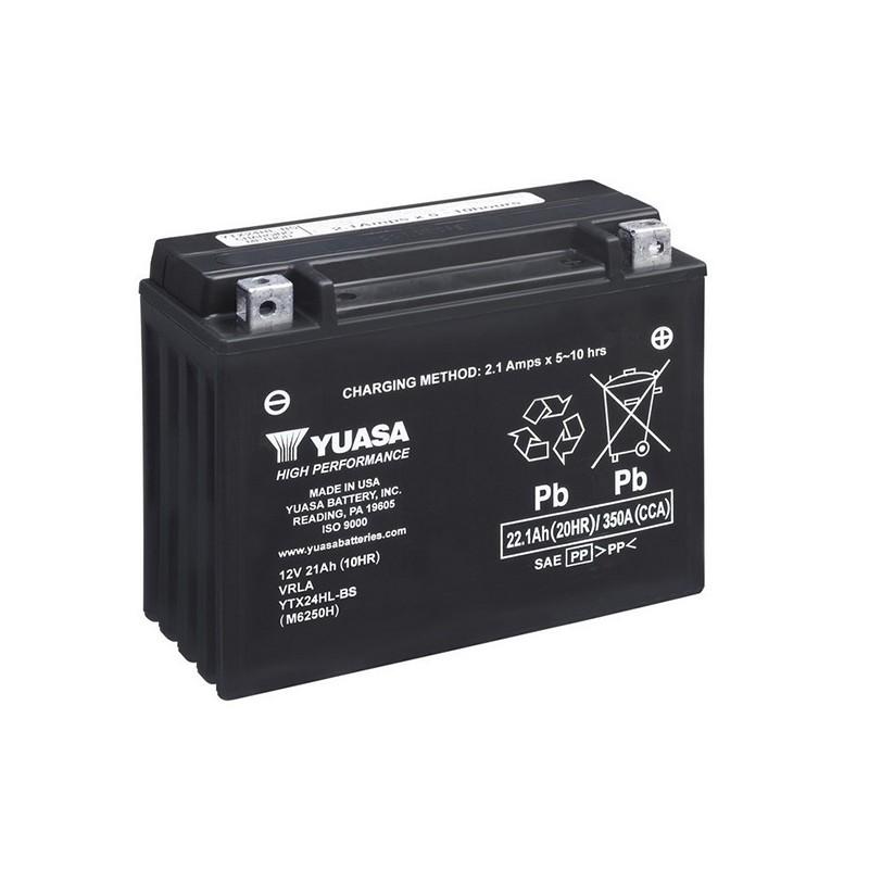 YUASA YTX24HL-BS 22.1Ah (C20) akumuliatorius