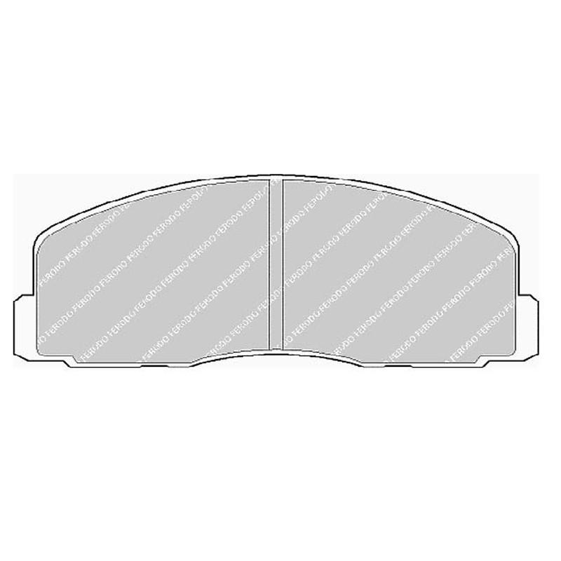 Disk brake pads EGT 321428
