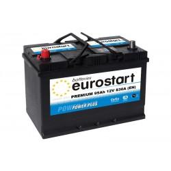 EUROSTART PREMIUM 59545 (595405083) 95Ah akumuliatorius