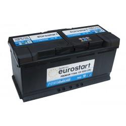 EUROSTART PREMIUM 61042 (610402092) 110Ah akumuliatorius